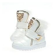 Støvler ( Brun/Rød/Hvid ) - GIRL - Komfort/Rund Tå/Fashion Boots