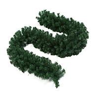 2.7m grün gefärbten Weihnachten Dekoration Kunstrattan