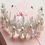 Women's Lace/Alloy/Imitation Pearl Headpiece - Wedding Headbands