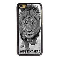 gepersonaliseerde telefoon case - wilde leeuwen ontwerp metalen behuizing voor de iPhone 5c