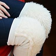 하얀 눈 레깅스 각반을 sking 야외 하이킹