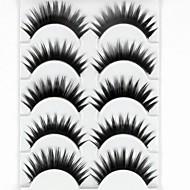 Eyelashes lash Eyelash Thick / Natural Long Volumized / Thick Fiber