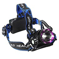 Lights Headlamps LED 2500 Lumens 3 Mode Cree XM-L2 U2 18650 Waterproof / RechargeableCamping/Hiking/Caving / Everyday Use / Cycling/Bike