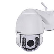 wanscam® PTZ utendørs ip kamera 720p dag natt vanntett wifi p2p