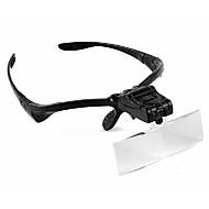 Magnifiers/Magnifier Glasses Headset/Eyewear 4.9x & Under Plastic