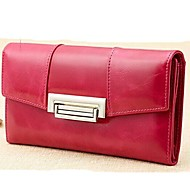 Women 's Genuine Leather Wallets Day Clutch Purse Card Holders