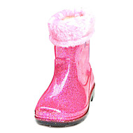 Children' Shoes Comfort Rain Boots Low Heel Mid-Calf Boots More Colors available