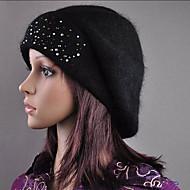 hochwertigen Kaninchenhaar Hut schwarz