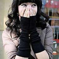 Mode Spiel lange Handschuhe schwarz