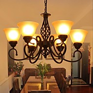 lightmyself® luxusní pastorační styl Moderní obývací pokoj 6 světla