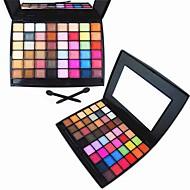 48 Paleta de Sombras Secos / Mate / Brilho / Mineral Paleta da sombra Pó NormalMaquiagem de Festa / Maquiagem Esfumada / Maquiagem para