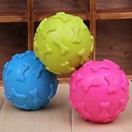 Zabawka dla psa Zabawki dla zwierząt Owalne Zabawki do żucia Pisk Kość Gumowy