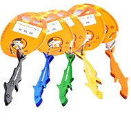 Shark Shaped Beer Bottle Opener Keychain Keyring (Random Color)