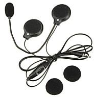 mini 3,5 mm Klinke Mikrofonlautsprecher Motorradhelm-Headset