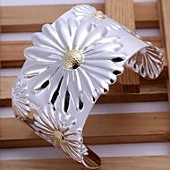 Women's Cuff Bracelet Silver