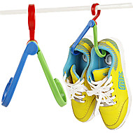 Plastic Shoes Hanger 1 PCS(Color Random Delivery)