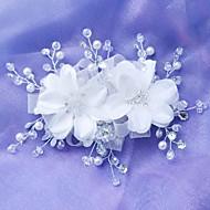 nova flor coreana artesanal de noiva frisado cocar mais cores