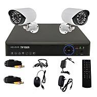 twvision® 4 canales 960H canal cctv dvr hdmi 2x 800tvl al aire libre sistema de cámaras de seguridad