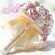 vintage silke Rosen Blumenmädchen Hochzeit Brautstrauß Corsage (weitere Farben)