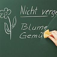 cortáveis adesivos de parede ensino pvc ferramenta whiteboard ambientais com 3pcs caneta, 60x200cm