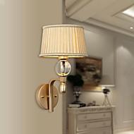 mini veggen lys en lys moderne kunstnerisk rustfritt stelle plating 220v