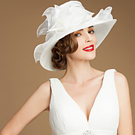 Women's Organza Headpiece - Wedding/Special Occasion/Casual/Outdoor Hats