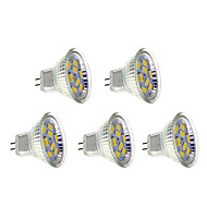 Lâmpada de Foco GU4 4 W 400-430 LM 6500 K Branco Quente 9 SMD 5730 5 pçs AC 12 V
