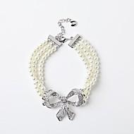 Women's Chain Bracelet Pearl/Alloy