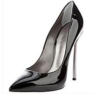 Women's Spring / Summer / Fall Heels / Pointed Toe Satin / Leatherette Party & Evening Stiletto Heel Black / Pink / Purple / Beige