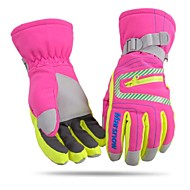 unisexe fashional imperméable à l'eau&gants de ski de pêchers coupe-vent