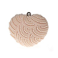 Metal Imitation Peral Wedding/Party Clutches with Peral (More Colors)