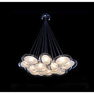 1.5W Pendant Light ,  Modern/Contemporary Chrome Feature for LED Metal Living Room / Bedroom / Dining Room