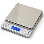 Prointxp®Scales Precision 2000g x 0.1g Jewelry Scales Electronic Weight Digital Balance for Multifunctions