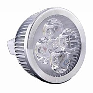 5W / 4W GU5.3(MR16) LED Spotlight MR16 4 High Power LED 500 lm Warm White / Cool White Dimmable DC 12 / AC 12 V 1 pcs