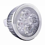 5w / 4w gu5.3 (mr16) led spotlight mr16 4 hoog vermogen LED 500 lm warm wit / koel wit dimbaar dc 12 / ac 12 v 1 stuks