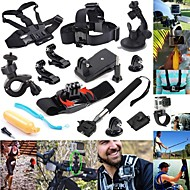 defery-12-in-1 Outdoor-Sport Essentials Kit für gopro hero4 silber schwarz Held 4 3 + 3 2