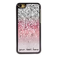 персонализированные телефон случае - мерцающий металлический корпус дизайн порошок для iPhone 5с