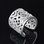 ssmn ženska posrebreni otvaranje prstena