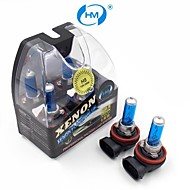 hm® נורות H8 הפלזמה קסנון מנורת הלוגן 35W 12V פנס אור לבנים (זוג)