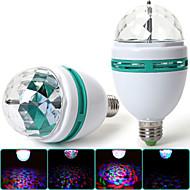 Spot/Lampe LED de Scène Décorative RGB MORSEN A E26/E27 3 W 1 LED Haute Puissance 300-400 LM 1 K AC 85-265 V