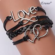 Bracelet Bracelets en cuir Bracelets Alliage Cuir Autres Original Mode Bijoux initial InspirationMariage Soirée Quotidien Décontracté