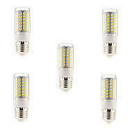 15W E14 / G9 / E26/E27 LED Corn Lights T 69 SMD 5730 1500 lm Warm White / Cool White AC 220-240 V 5 pcs