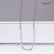 Eruner®Unisex 1MM Silver Chain Necklace NO.13