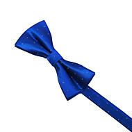 azul&pontos brancos gravata borboleta