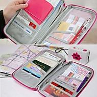 reise pass kreditt id-kort kontanter holder lommeboken vesken tilfelle makeup blyant pc bag bryllup retur gave (flere farger)