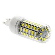 15W G9 LED corn žárovky T 69 SMD 5730 1500 lm Přirozená bílá AC 220-240 V