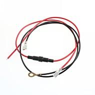 sigarettenaansteker kabel draad zetel auto / motor conversie met 20a zekering sigarettenaanstekerkabel