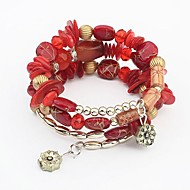 Women's Fashion Bracelet Resin/Rope