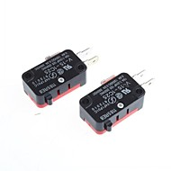 micro switch off-on para a eletrônica diy (2pcs)