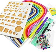 quilling papir DIY håndværk dekoration kit / 7pcs sæt